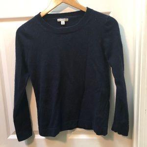 J. Crew Navy Classic Sweater